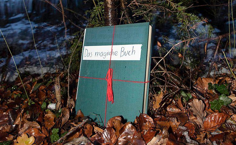 Das magische Buch lüftet sein Geheimnis erst …