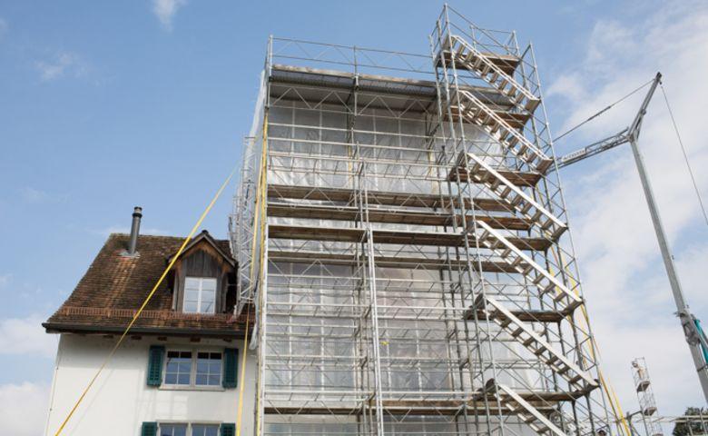 Beim Umbau in Schwerzenbach werden Energiesparmassnahmen berücksichtigt.